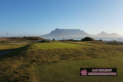 Milnerton Golf Course Table Mountain View
